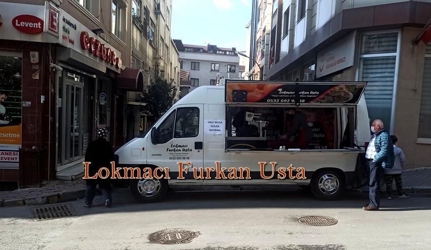 Sultangazi'de Lokma Arabası ile lokma dağıtım hizmeti