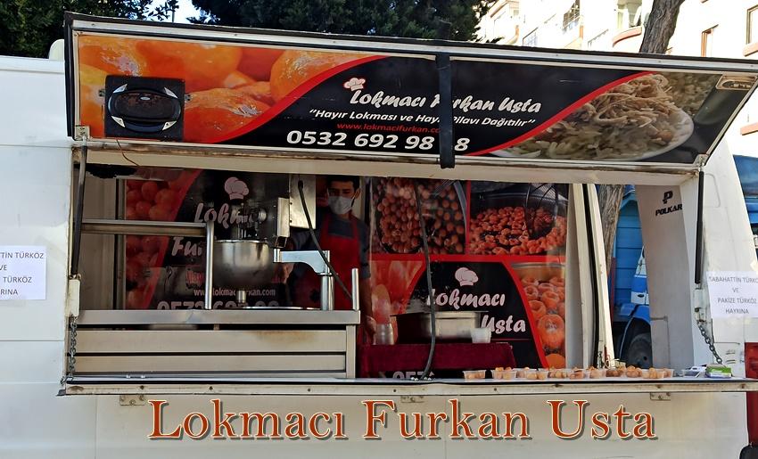 Çekmeköy Hayır lokma Arabası ile lokma ikramı