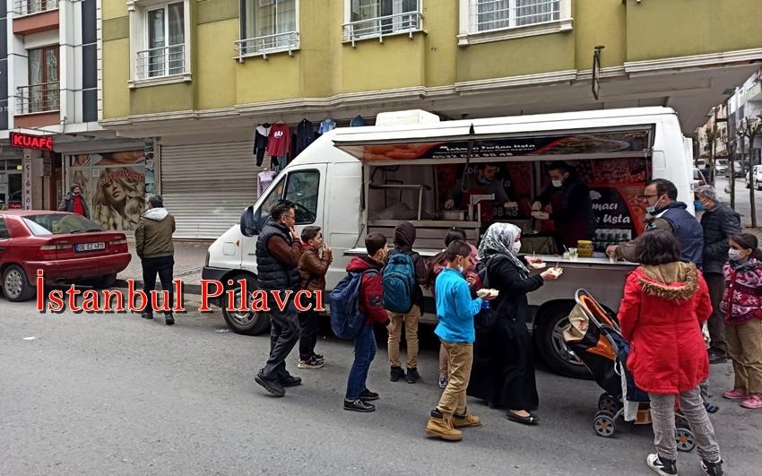 İstanbul pilavcı kiralama